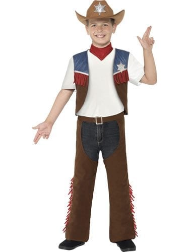 Texan Cowboy Children's Fancy Dress Costume