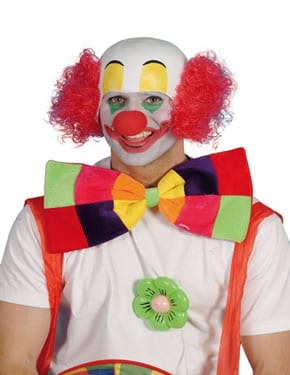Rubber Topped Clown Wig