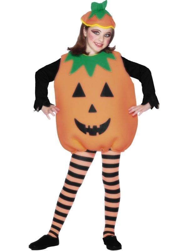 Pumpkin Halloween Childrens Fancy Dress Costume