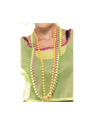 Neon Colored 4 Pack Beads