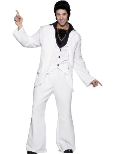 70's Disco Man Mens Fancy Dress Costume (DISC)