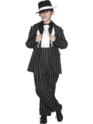 Zoot Suit Children's Fancy Dress Costume