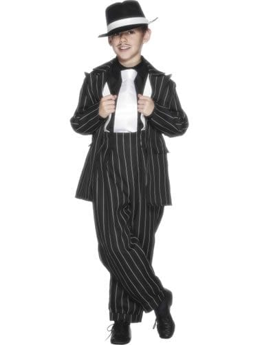 Zoot Suit Children's Fancy Dress Costume