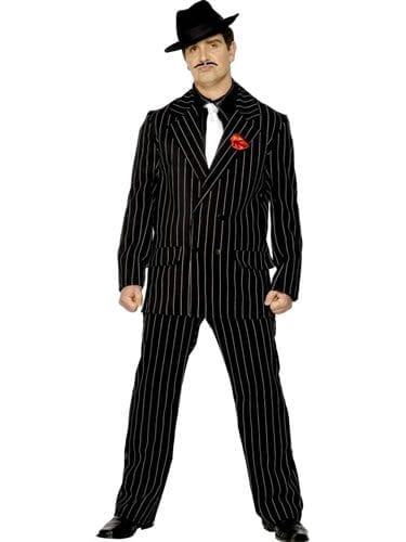 Zoot Suit Mens Fancy Dress Costume