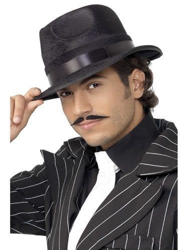 Black Indestructible Fedora Hat