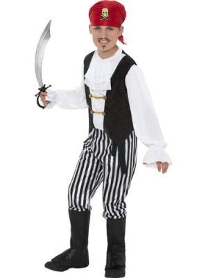 Deluxe Pirate Children's Fancy Dress Costume