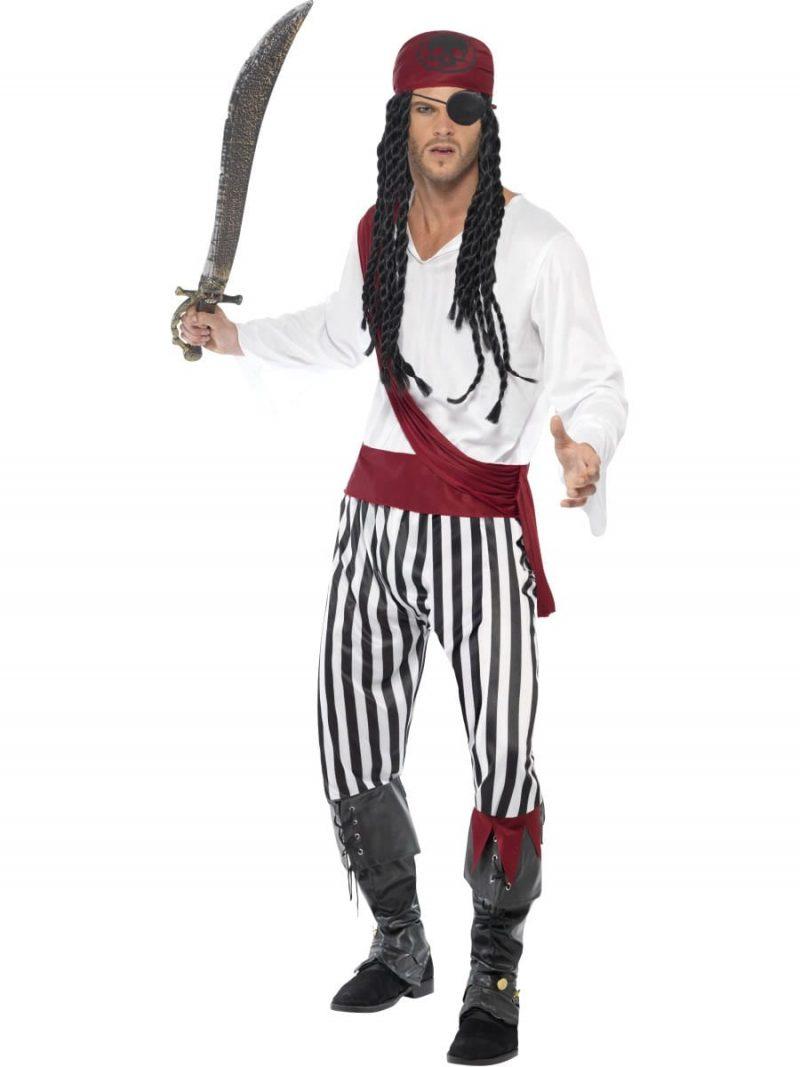 Pirate Man Men's Fancy Dress Costume
