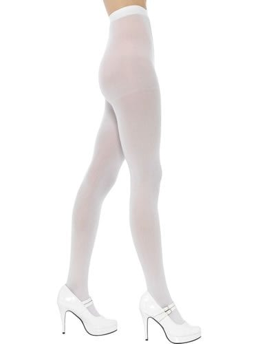 70 Denier Solid White Tights