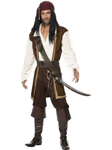 High Seas Pirate Men's Fancy Dress Costume