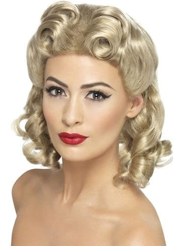 1940's Sweetheart Blonde Wig