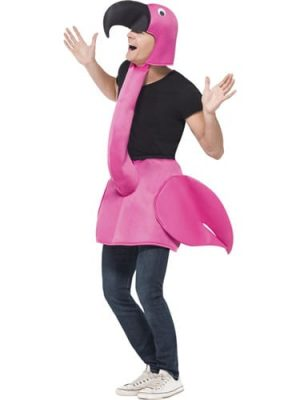 Flamingo Unisex Fancy Dress Costume