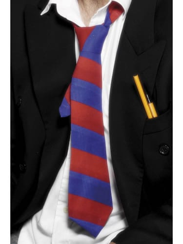 School Tie Blue/Red
