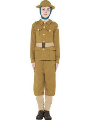Horrible Histories World War I Boy Children's Fancy Dress Costume