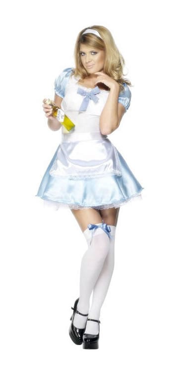Fever Collection Miss Looking Glass Ladies Fancy Dress Costume