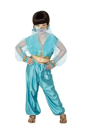 Arabian Princess Children's Fancy Dress Costume