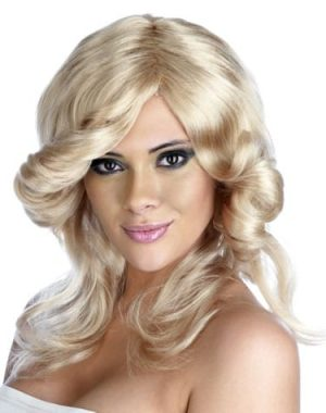 Farrah Flick Blonde Wig