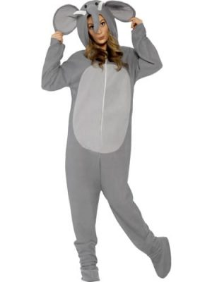 Elephant (Onesie) Unisex Adult Fancy Dress Costume