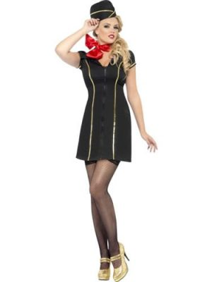 Fever Collection Fly Me Ladies Fancy Dress Costume