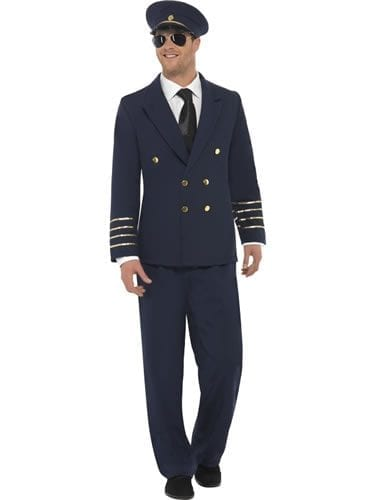 Pilot Mens Fancy Mens Dress Costume