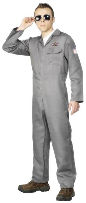 Aviator Mens Fancy Dress Costume