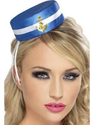 Pill Box Sailor Hat