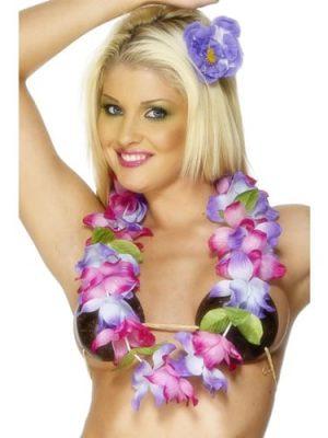 Hawaiian Lei Purple/Pink