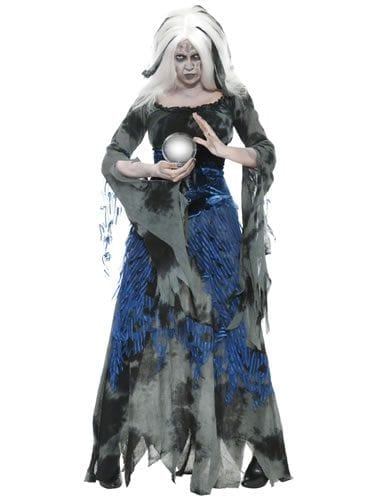 Haunted Court Sinful Soothsayer Ladies Halloween Fancy Dress Costume