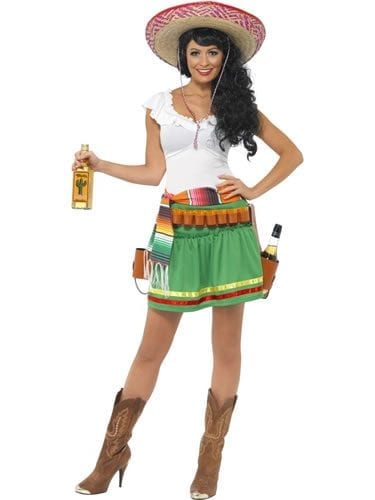 Tequila Shooter Ladies Fancy Dress Costume