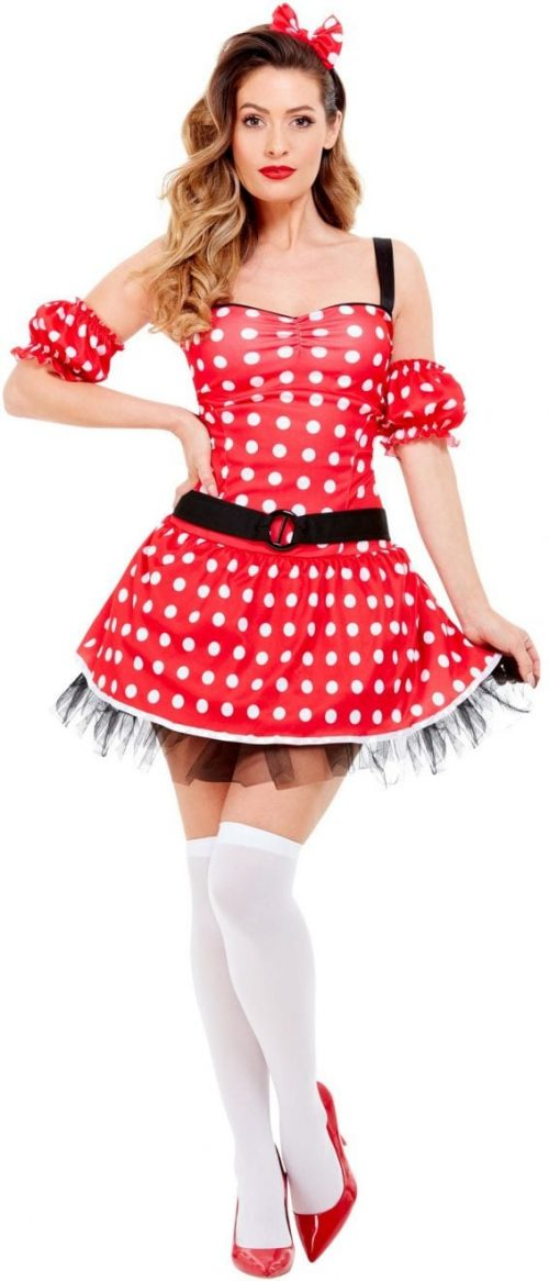Madame Mouse Ladies Fancy Dress Costume