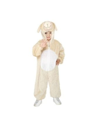 Lamb Childrens Fancy Dress Costume 4-6 Years