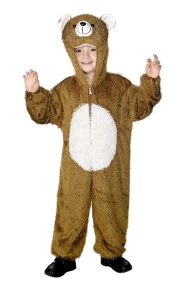 Bear Children's Fancy Dress Costume 4-6 Years
