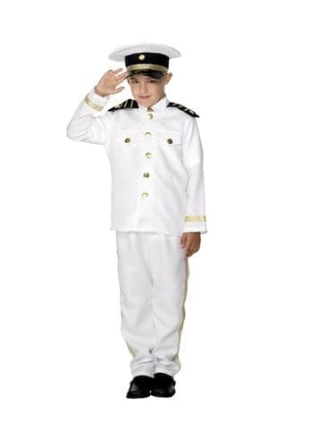 Captain Children's Fancy Dress Costume