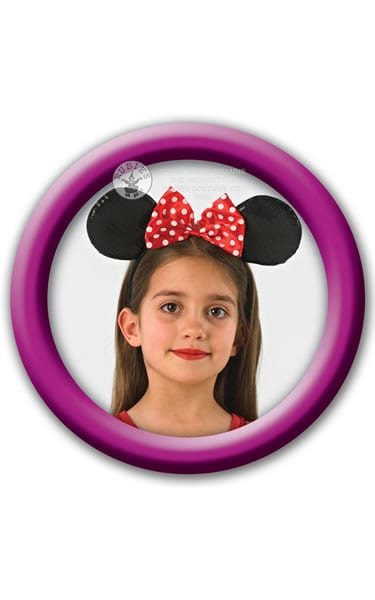 Disney's Red Sequinned Minnie Ears