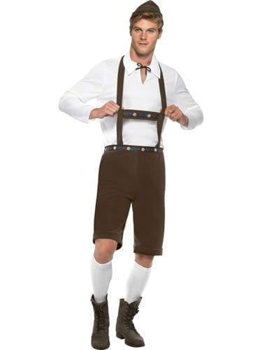 Bavarian Man Men's Fancy Dress Costume