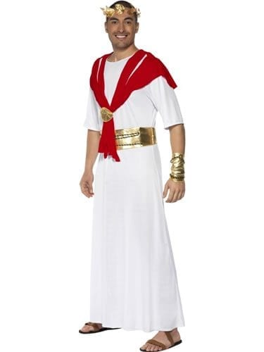 Romulus the King Men's Fancy Dress Costume (DISC)