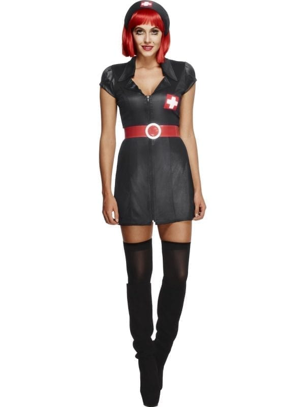 Fever Collection Nurse Have Mercy Ladies Fancy Dress Costume
