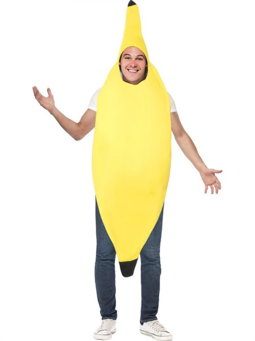 Banana Novelty Unisex Fancy Dress Costume
