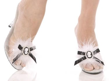 Bijou Boutique Cameo Shoe Clips