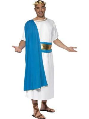 Roman Senator Mens Fancy Dress Costume