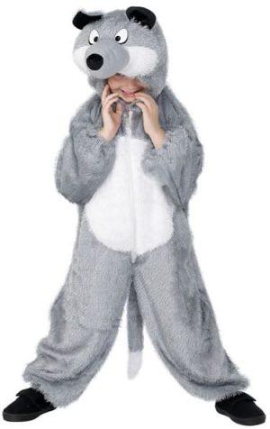 Wolf Childrens Fancy Dress Costume 7-9 Years