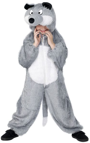 Wolf Childrens Fancy Dress Costume 7-9 Years