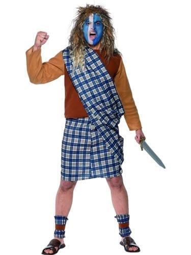 Tales of Old England Brave Scotsman Mens Fancy Dress Costume
