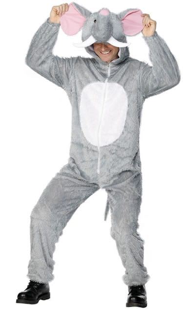 Elephant Unisex Adult Fancy Dress Costume