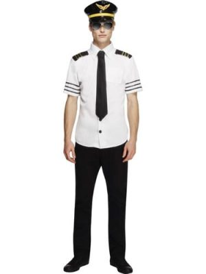 Fever Collection Mile High Mens Fancy Dress Costume