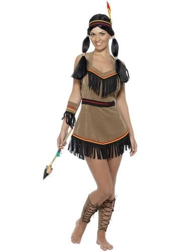 Indian Woman Ladies Fancy Dress Costume