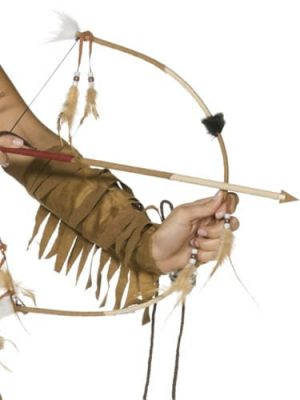 Deluxe Bow & Arrow Set with Feathers