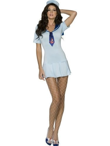 Fever Collection Shipmate Sweetie Ladies Fancy Dress Costume