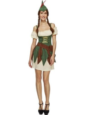 Fever Collection Sexy Outlaw Ladies Fancy Dress Costume