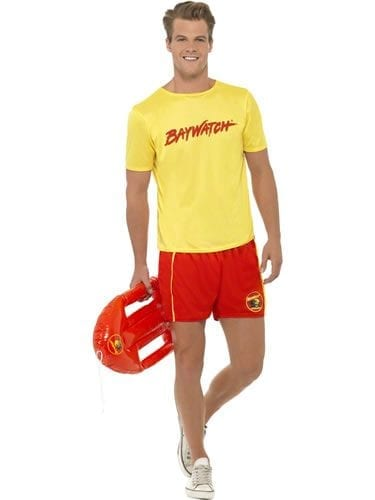 Baywatch Beach Men's Fancy Dress Costume