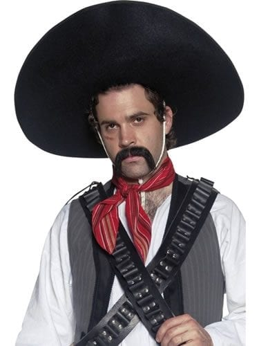 Authentic Mexican Bandit Sombrero